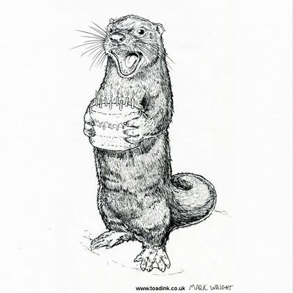 Birthday Otter. All rights reserved.
